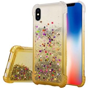 Apple iPhone XR Case Liquid Quicksand Glitter TPU